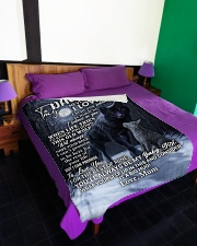 "DU002 Large Fleece Blanket - 60"" x 80"" aos-coral-fleece-blanket-60x80-lifestyle-front-01"