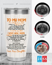 TUMBLER - MD0002 - GIFT FOR MOM FROM DAUGHTER 30oz Tumbler aos-30oz-tumbler-lifestyle-front-13