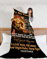 "FE019 Large Fleece Blanket - 60"" x 80"" aos-coral-fleece-blanket-60x80-lifestyle-front-11"
