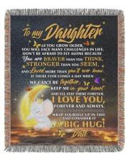 BLANKET - DD0002 - GIFT FOR DAUGHTER 50x60 - Woven Blanket tile