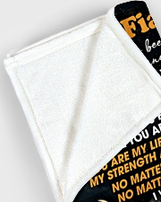"BLANKET - FE0003 - GIFT FOR FIANCEE Large Fleece Blanket - 60"" x 80"" aos-coral-fleece-blanket-60x80-lifestyle-front-12"