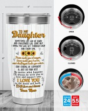 TUMBLER - DM0005 - GIFT FOR DAUGHTER FROM MOM 30oz Tumbler aos-30oz-tumbler-lifestyle-front-13