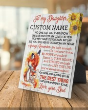 CV - DM0005 - GIFT FOR DAUGHTER FROM MOM 8x10 Easel-Back Gallery Wrapped Canvas aos-easel-back-canvas-pgw-8x10-lifestyle-front-04