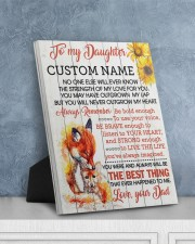CV - DM0005 - GIFT FOR DAUGHTER FROM MOM 8x10 Easel-Back Gallery Wrapped Canvas aos-easel-back-canvas-pgw-8x10-lifestyle-front-06