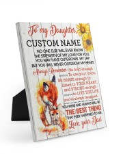 CV - DM0005 - GIFT FOR DAUGHTER FROM MOM 8x10 Easel-Back Gallery Wrapped Canvas front