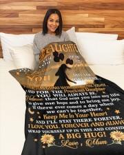 "BLANKET - DU0001 - GIFT FOR DAUGHTER Large Fleece Blanket - 60"" x 80"" aos-coral-fleece-blanket-60x80-lifestyle-front-05a"