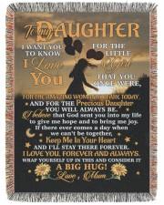 BLANKET - DU0001 - GIFT FOR DAUGHTER 60x80 - Woven Blanket tile
