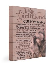 CV - GF0004 - GIFT FOR GIRLFRIEND Gallery Wrapped Canvas Prints tile