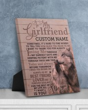 CV - GF0004 - GIFT FOR GIRLFRIEND 8x10 Easel-Back Gallery Wrapped Canvas aos-easel-back-canvas-pgw-8x10-lifestyle-front-06