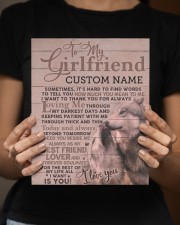 CV - GF0004 - GIFT FOR GIRLFRIEND 8x10 Easel-Back Gallery Wrapped Canvas aos-easel-back-canvas-pgw-8x10-lifestyle-front-16