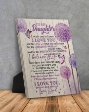 CV - DD0002 - GIFT FOR DAUGHTER FROM DAD 8x10 Easel-Back Gallery Wrapped Canvas aos-easel-back-canvas-pgw-8x10-lifestyle-front-08