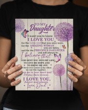 CV - DD0002 - GIFT FOR DAUGHTER FROM DAD 8x10 Easel-Back Gallery Wrapped Canvas aos-easel-back-canvas-pgw-8x10-lifestyle-front-16