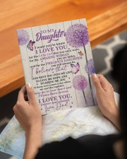 CV - DD0002 - GIFT FOR DAUGHTER FROM DAD 8x10 Easel-Back Gallery Wrapped Canvas aos-easel-back-canvas-pgw-8x10-lifestyle-front-17