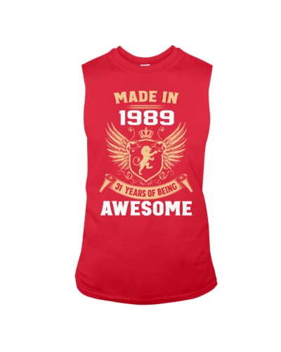 Made In 1989 31 Years Of Being Awesome