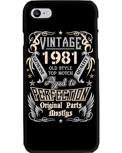 Vintage 1981 Aged To Perfection