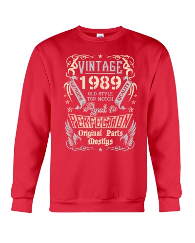 Vintage 1989 Aged To Perfection