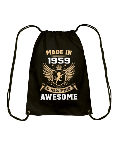 Made In 1959 61 Years Of Being Awesome