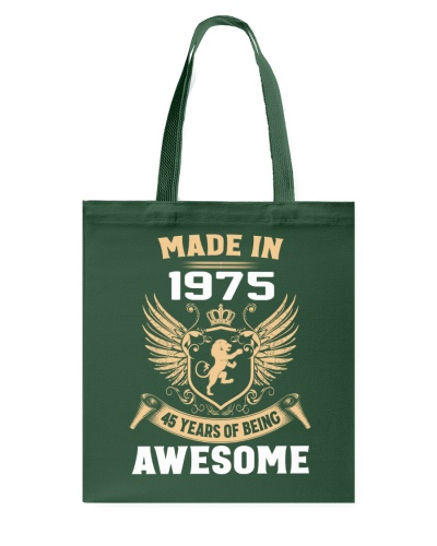 Made In 1975 45 Years Of Being Awesome