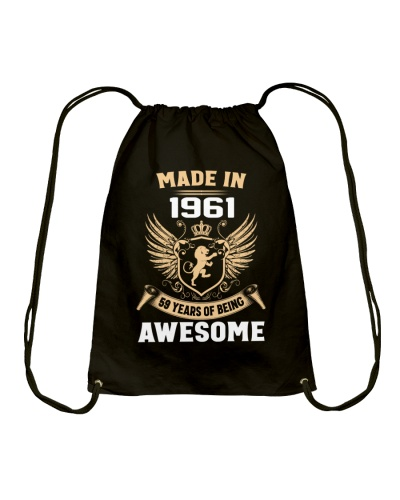Made In 1961 59 Years Of Being Awesome