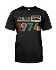 Vintage 1974 Classic T-Shirt front
