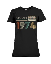 Vintage 1974 Premium Fit Ladies Tee tile