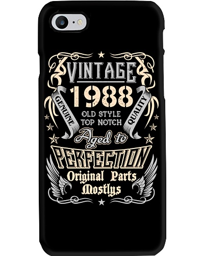 Vintage 1988 Aged To Perfection