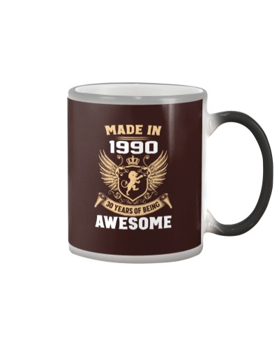 Made In 1990 30 Years Of Being Awesome