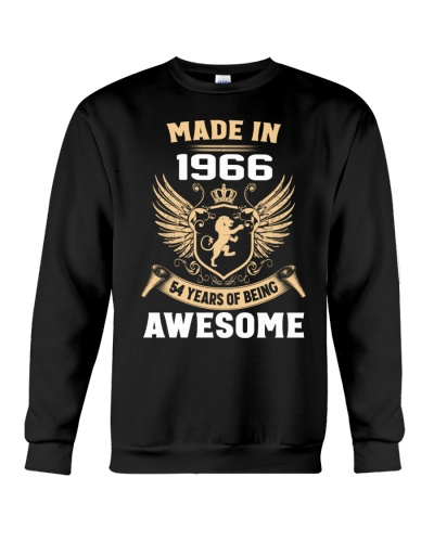 Made In 1966 54 Years Of Being Awesome