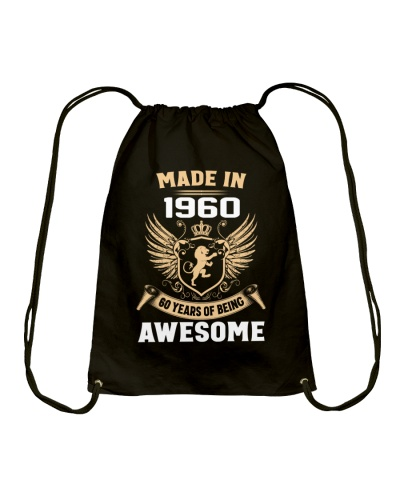 Made In 1960 60 Years Of Being Awesome