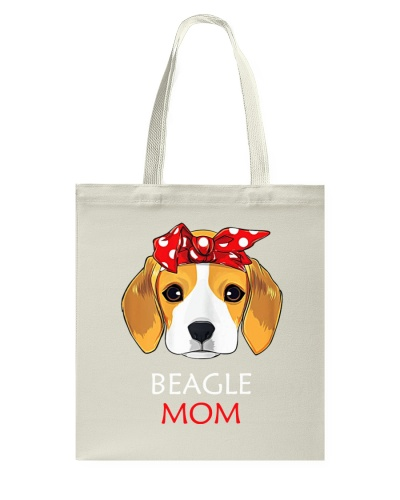 Beagle Mom Proud Owner Women Girls T-Shirt