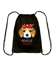 Beagle Mom Proud Owner Women Girls T-Shirt Drawstring Bag thumbnail