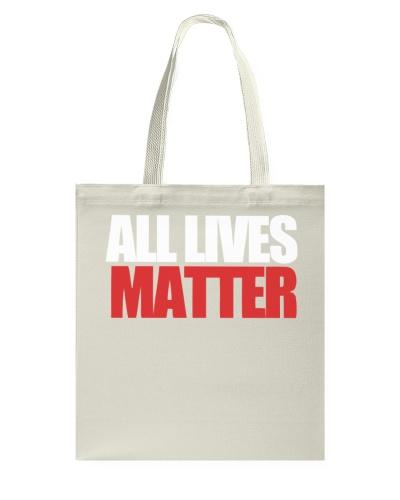 All Lives Matter Black Adult Shirt