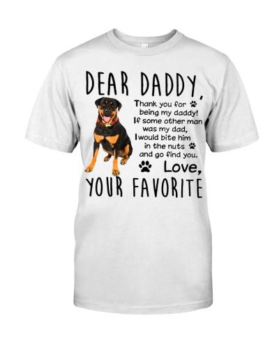 Rottweiler dear DADDY