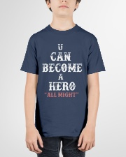 U can become a hero all might-- Limited Edition Youth T-Shirt garment-youth-tshirt-front-01