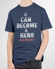 U can become a hero all might-- Limited Edition Youth T-Shirt garment-youth-tshirt-front-lifestyle-01