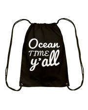 Ocean time Y'all t-shirt Limited Edition Drawstring Bag front