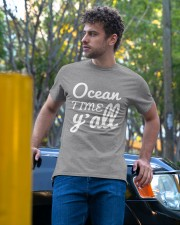 Ocean time Y'all t-shirt Limited Edition Classic T-Shirt apparel-classic-tshirt-lifestyle-front-44