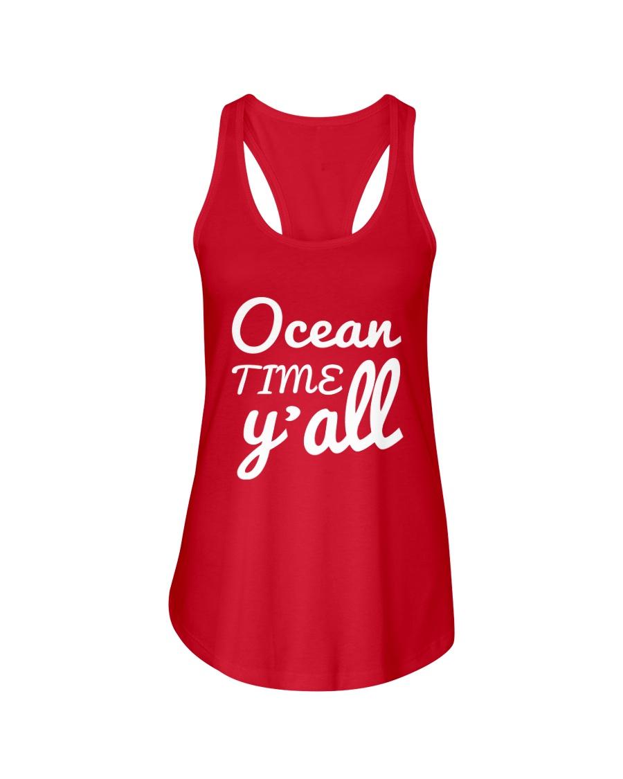 Ocean time Y'all t-shirt Limited Edition Ladies Flowy Tank