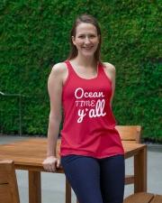 Ocean time Y'all t-shirt Limited Edition Ladies Flowy Tank lifestyle-bellaflowy-tank-front-1