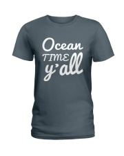 Ocean time Y'all t-shirt Limited Edition Ladies T-Shirt thumbnail