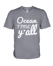 Ocean time Y'all t-shirt Limited Edition V-Neck T-Shirt thumbnail