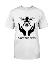 Save The Bees Classic T-Shirt front