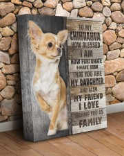 Chihuahua - You are my daughter 11x14 Gallery Wrapped Canvas Prints aos-canvas-pgw-11x14-lifestyle-front-18