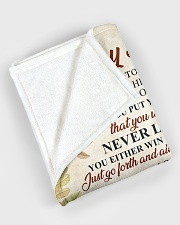 """To my son - I'll love you for the rest of mine Large Fleece Blanket - 60"""" x 80"""" aos-coral-fleece-blanket-60x80-lifestyle-front-08"""