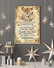 To my mom - You will always be my loving mother 11x17 Poster lifestyle-holiday-poster-1