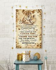To my mom - You will always be my loving mother 11x17 Poster lifestyle-holiday-poster-3