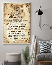 To my mom - You will always be my loving mother 11x17 Poster lifestyle-poster-1