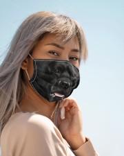 Amazing Black Labrador Cloth face mask aos-face-mask-lifestyle-19