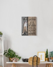 Boxer - I am your friend 11x14 Gallery Wrapped Canvas Prints aos-canvas-pgw-11x14-lifestyle-front-03
