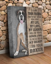 Boxer - I am your friend 11x14 Gallery Wrapped Canvas Prints aos-canvas-pgw-11x14-lifestyle-front-18